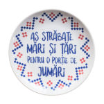 Farfurie As strabate mari si tari