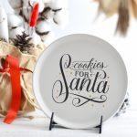Farfurie Cookies for Santa Chicineta
